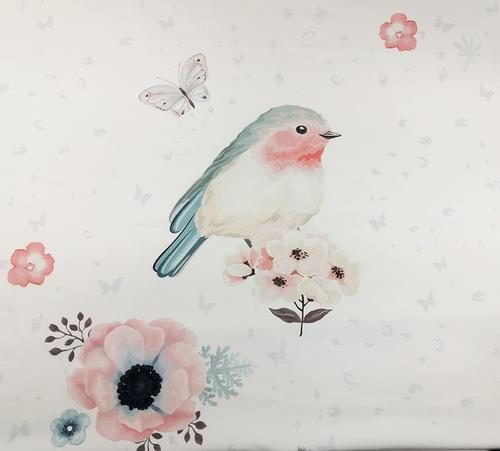 Birds - Panel - digitaler Druck - Fleece | MetryiCentymetry