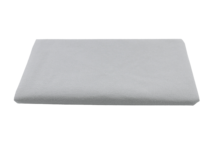 Cotton knitwear waterproof with membrane for sheets - gray